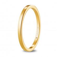 Alianza de boda plana con 1,65mm de ancho oro amarillo 5117530