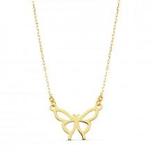 Colgante mariposa de oro amarillo 16849