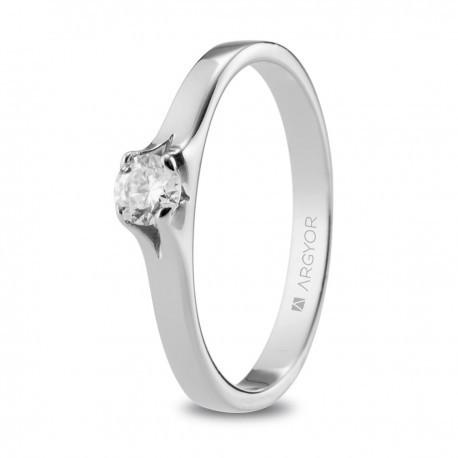 cc04f22e91c9 Anillo de compromiso con diamante de 0