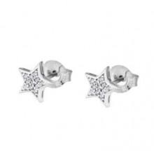 Pendientes Lotus Silver estrellas LP1622-4/1