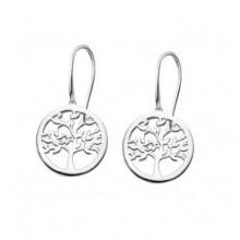 Pendientes Lotus Silver árbol de la vida LP1641-4/1