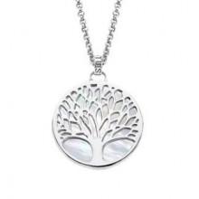 Colgante Lotus Silver árbol de la vida nacar LP1678-1/1
