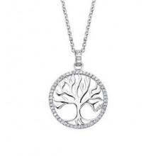 Colgante Lotus Silver árbol de la vida circonitas LP1779-1/1