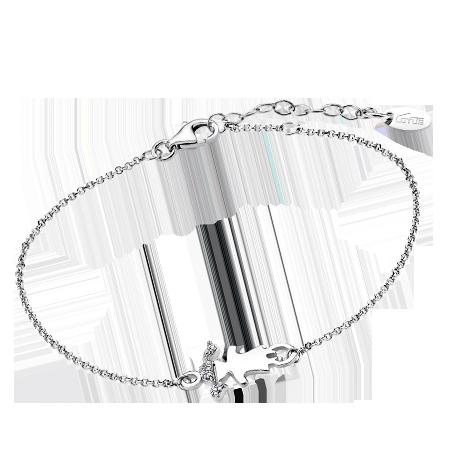 63d4068cc77f Pulsera Lotus Silver niña con cadena de plata LP1582-2 1