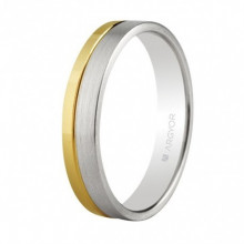 Alianza oro blanco y amarillo Argyor referencia 5240299