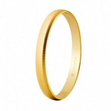 Alianza Argyor 18 kilates en Oro amarillo (2.5mm ancho) acabado semi mate