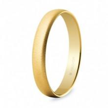 Alianza Argyor 18 kilates en Oro amarillo (3.5mm ancho) acabado semi mate